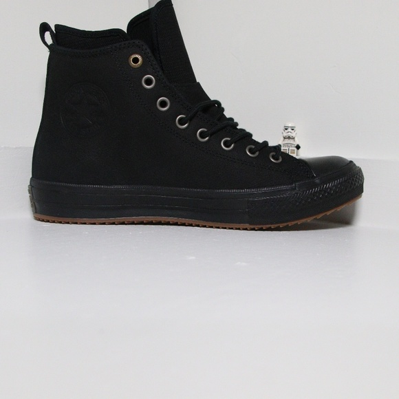 e513b5220b5 Converse Black on Black Waterproof All Star Boots